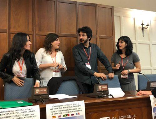 Rubén Peinado participa en el XII Congreso Internacional y XVII Nacional de Psicología Clínica.