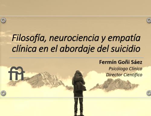 Formación a los voluntarios del Teléfono de la Esperanza; séptima sesión a cargo de Fermín Goñi sobre filosofía, neurociencia y empatía clínica en el abordaje del suicidio.