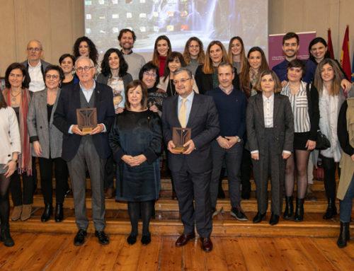 Reconocimiento a D. Vicente Madoz Jauregui por su colaboración al desarrollo de la Salud Mental en Navarra.