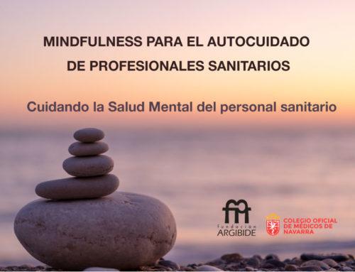 Curso de Mindfulness para el autocuidado de profesionales sanitarios.
