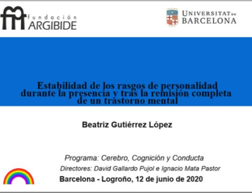 Proyecto de Investigación realizado por Beatriz Gutiérrez.