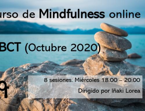 Curso de Mindfulness ONLINE – MBCT (Octubre 2020)